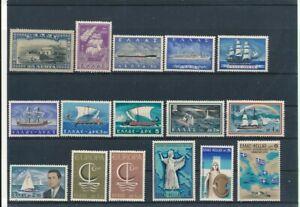 D198758 Greece Nice selection of MNH stamps