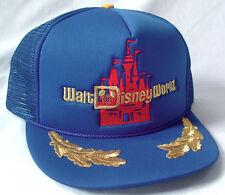 UNWORN Vtg 80s Captains Hat WALT DISNEY WORLD castle magic kingdom mickey mouse
