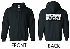 BOSS 302 ZIP Hoodie - SM to 5xl - Ford Mustang