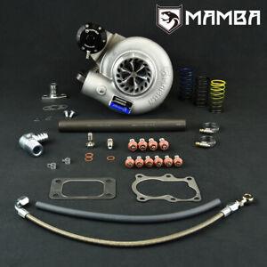 """MAMBA 12-6 Oil-Cooled Turbo For Nissan TD42 GU 3"""" TD05H-18G 6cm Bolt-On Hsg"""