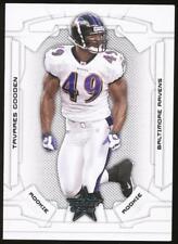 2008 Leaf Rookies and Stars Tavares Gooden RC Ser #199 Baltimore Ravens /999