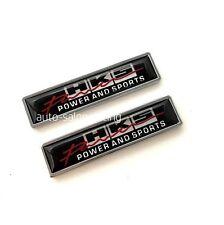 2PCS HKS Luxury Auto Car Body Fender Metal Emblem Badge Sticker Decal