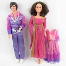 """Donnie & Marie Osmond - Vintage 1976 Mattel 12"""" Dolls Lot"""