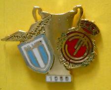 DISTINTIVO SPILLA PIN BADGE - LAZIO-MAIORCA - FINALE COPPA DELLE COPPE 1999