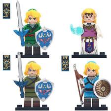 The Legend of ZELDA 2 Game Princess NINTENDO Link Lego Moc Minifigure Gift Toys