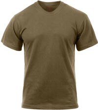 Rothco Moisture Wicking T-shirts Regular XL Brown 9574