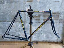 Vintage Belgian Eddy Merckx Strada Columbus 54 cc steel frame frameset