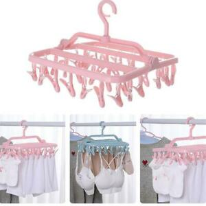 Multi-clamp Hanger Drying Socks Clip  Household Hanging Clothes  Rack