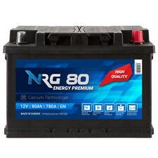 NRG Premium Autobatterie 12V 80Ah WARTUNGSFREI TOP ANGEBOT NEU Batterie