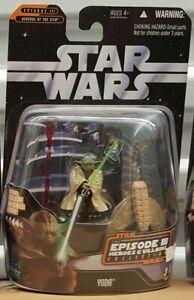 """Star Wars Saga Heroes & Villains Episode III (3 of 12) Yoda 3.75"""" Figure"""