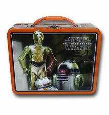 Star Wars Episode VII  ~ R2-D2 & C-3P0  Lunch Box by Tin Box Company ~ 2015