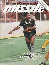 1988 Los Angeles Lazers vs. Tacoma Stars MISL Soccer Program - Thompson Usiyan