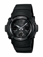 Casio Men's G-Shock Solar Watch Black AWGM100B-1A