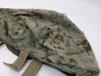 Used US Military multicam tactical helmet cover camo covering battle worn Army