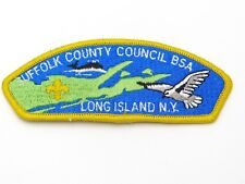 Suffolk County Council BSA Long Island NY CSP Boy Scout Council Shoulder Patch