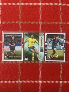 ZLATAN IBRAHIMOVIC - Football Card Bundle - Panini - PSG - Sweden
