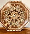 Large Anglo Indian Vintage Tray with Inlay