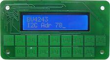 TASTIERINO I2C Pannello frontale per Arduino, Raspberry Pi, BLU 16x2 LCD e Tastierino 16