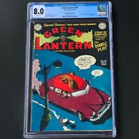 GREEN LANTERN #38 (DC 1949) 💥 CGC 8.0 WHITE PGs 💥 ONLY 2 HIGHER! Last Issue