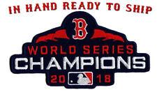 ⚾NEW! BOSTON RED SOX 2018 World Series Champions Iron-on Baseball Jersey PATCH!
