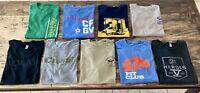 CrossFit T-Shirt LOT (9) - 31Heroes, Grandview, Ohio, ROGUE, Omaha - Men's L&M