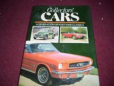COLLECTOR CARS GENERATION OF POST WAR CLASSICS HARDCOVER BOOK MUSTANG JAGUAR ALL