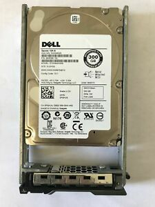 LOT OF 7 PGHJG 0PGHJG DELL 300GB 10K 6G SFF 2.5'' SAS HDD HARD ST300MM006