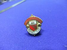 vtg badge manchester united fc football club supporter
