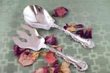 STRASBOURG Salad Serving Set Gorham Sterling LAG 2 Pieces