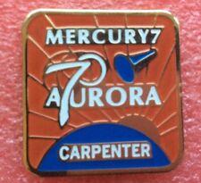 Pins ÉCUSSON Patch NASA MISSION MERCURY 7 CARPENTER Vintage Badge Lapel Pin