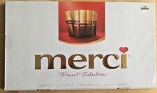 Storck Merci chocolate gigante 400g Caja Surtido de calidad superior de selección-Reino Unido Vendedor
