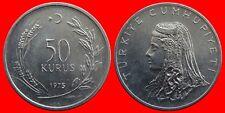 50 KURUS 1975 SIN CIRCULAR TURQUIA-0292SC