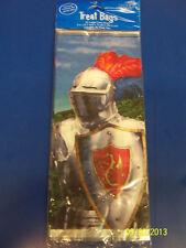 Valiant Knight Medieval Dragon Kids Birthday Party Favor Sacks Large Cello Bags