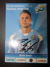 1328 Chemnitzer FC CFC David Sieber 2007 - 2008 original signierte AK