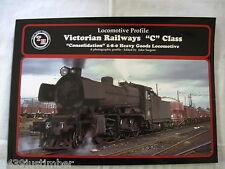 "Victorian Railways ""C"" Class Locomotive Profile 2-8-0 Train Hobby New Book"