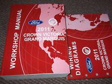 2011 Ford CROWN VICTORIA GRAND MARQUIS Service Shop Repair Workshop Manual Set