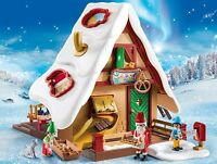 PLAYMOBIL Christmas Bakery 9493 with Cookie Cutters Christmas Gift Set 128 Piece