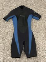 Oneill Reactor Wetsuit Size 8 - Black & Blue Shorty 2 MM