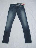 Women's Levi's Jeans 524 Skinny Leg Stretch Color Blue Moon 115070103