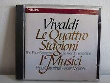 CD ALBUM VIVALDI Le quattro Stagioni I Musici 410001 2