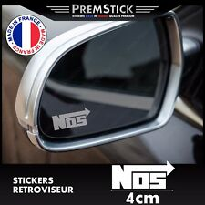 Kit 3 Stickers Retroviseur Voiture NOS - Autocollant auto, retro ref1
