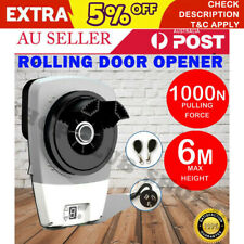 Automatic Roller Door Opener eGarage Powerful 1000N Motor Garage 22m2 Rolling OZ
