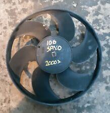 2000 - 2004 CITROEN SAXO PEUGEOT 106 RADIATOR FAN