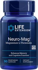 Life Extension Neuro-Mag Magnesium L-Threonate 90 VegCaps