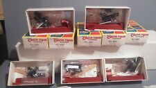 5 Walther's The Great Circus Train Pole Wagons Cole Ringling Bros Clyde...