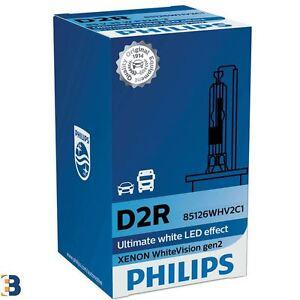 Philips D2R White Vision gen2 35W HID Xenon Scheinwerferlampe 85126WHV2C1 5000K