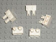 LEGO MARS MISSION White Brick with Pins ref 30526 / Set 7315 Solar Explorer