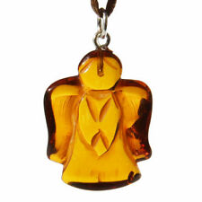 "Less than 13"" Amber Fine Necklaces & Pendants"
