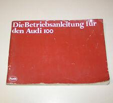 Betriebsanleitung Audi 100 L / LS -  Ausgabe 1979!