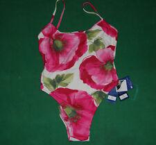 Vintage CONTE OF FLORENCE bikini sea Swim wear Suit BNWT NOS mare  floreal lycra